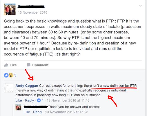 Coggan on FTP