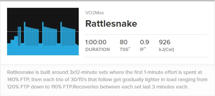 TRR Rattlesnake